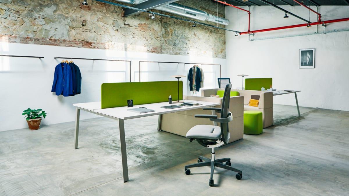 aménagement d'espaces de travail | bureaux & cloisons concept